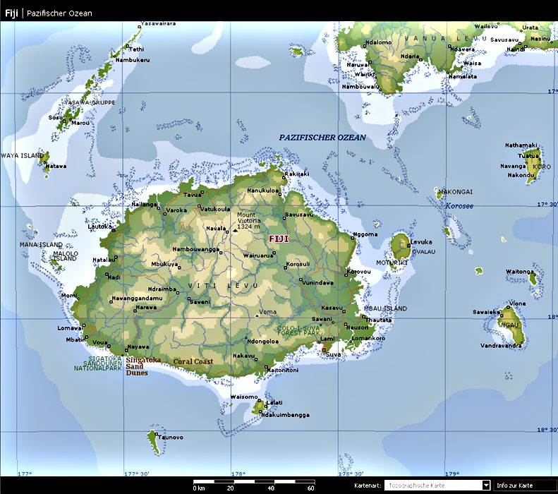 Maps of the fiji islands for your travel needs gumiabroncs Images